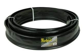 Elastyczne obrzeże ogrodowe Roleo 11cm x 10m - kolor czarny