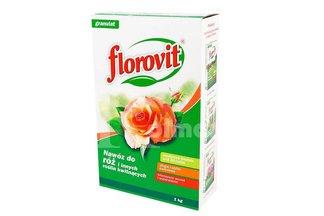 Florovit nawóz do róż i innych roślin kwitnących 1kg - karton