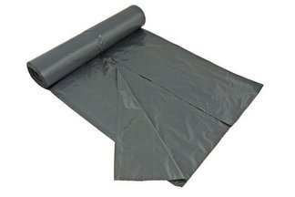 Foliowe worki do segregacji śmieci – mocne worki na śmieci  10 szt. 120 litrów czarne