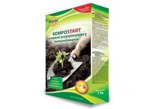 Kompostart - preparat przyspieszający kompostowanie 1kg PLANTA