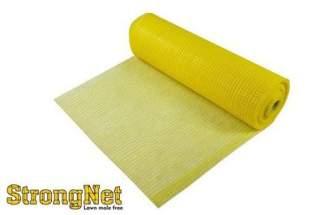 Najmocniejsza siatka przeciw kretom StrongNet - włoska (siatka na krety), oczko 15x19, kolor żółty 2x200m (10 szt - oferta hurtowa)