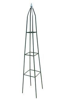 Ozdobna pergola ogrodowa piramida idealna do prawidłowego rozwoju i rozrostu roślin pnących