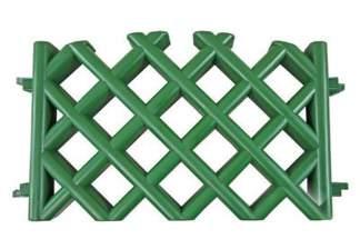 Płotek myśliwski (ogrodowy) zielony 3,5m + metalowe szpilki