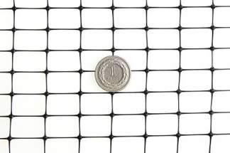 Siatka przeciw kretom, na krety, oczko 13x20mm – 2x100 m czarna