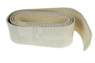Taśma na knoty bawełniana 50mm x 1mb