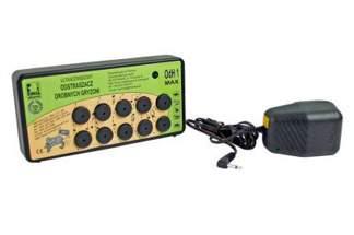 Ultradźwiękowy odstraszacz gryzoni OdH1 max + zasilacz