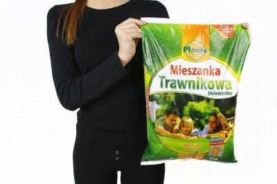 Mieszanka trawnikowa uniwersalna 2kg firmy Planta
