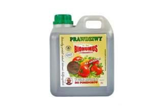 Biohumus Extra 2l – płynny nawóz naturalny do pomidorów