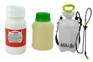Diablo Forte 250 ml – profesjonalny preparat do odkomarzania (komary, kleszcze i inne insekty) + utrwalacz do oprysku 250 ml + Opryskiwacz 5l