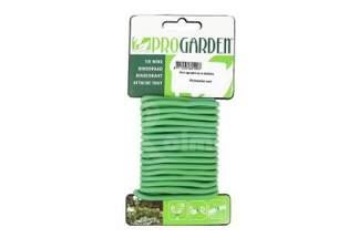 Drut ogrodniczy uniwersalny, zielony w otulinie 10m