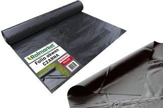 Folia do oczek wodnych, stawów i basenów Akwen 500, czarna 6x4m