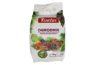 Fructus Ogrodnik - granulowany nawóz uniwersalny 5 kg