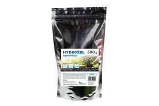 Hydrożel ogrodniczy - utrzymujący wodę dodatek do roślin, kwiatów i trawników 500g