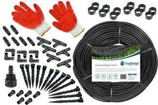 Linia kroplująca ( wąż kroplujący) 200 mb 2l/h 33cm + 140 akcesoriów