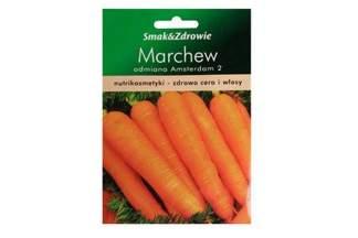 Marchew jadalna wczesna Amsterdam 2 Smak&Zdrowie