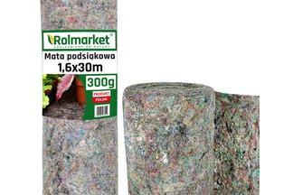 Mata podsiąkowa 1,6x30m (300g/m2) - ekologiczna