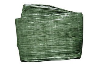 Plandeka okryciowa zielona 2x3m 65g