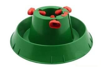 Plastikowy stojak choinkowy ze zbiornikiem na wodę L (10 szt)