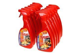 Płyn do czyszczenia szyb kominkowych i grilli – Tytan 6000ml (12 opakowań x 500ml)