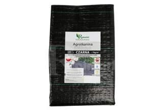 Polska agrotkanina czarna 1,6x10m (70g)