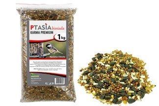 Ptasia Biesiada™ Premium - bogata zimowa karma dla ptaków dzikich 1kg