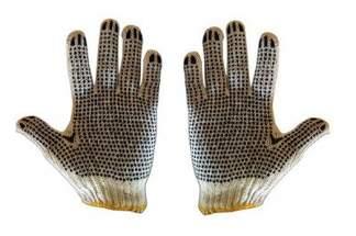 Rękawice robocze nakrapiane (60 par)