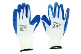 Rękawice robocze nylonowe 9 niebieskie (1 para)