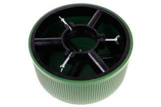 Stojak choinkowy z mocnego tworzywa, zielony 5 litrów (10 szt)