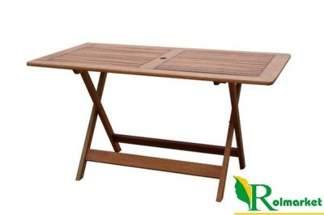 Stół drewniany prostokątny składany 88225