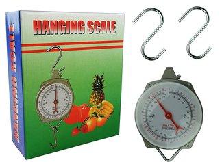 Waga zegarowa zawieszana z hakami 50 kg