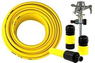 Wąż SUNFLEX 1/2 30m i złączki + Zraszacz CH-KT230B