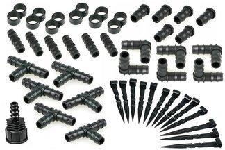 Zestaw 70 sztuk akcesoriów do linii kroplujących