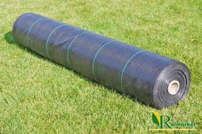 Agrotkanina czarna 1,1x50m (90g)