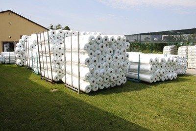 Agrowłóknina wiosenna biała 12,8x100m (21g) Wzmacniane Brzegi