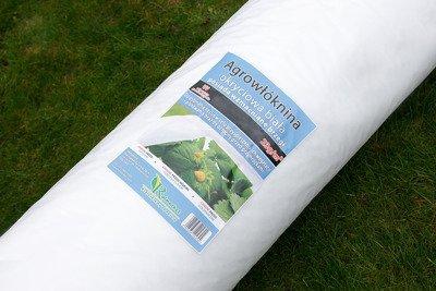 Agrowłóknina wiosenna biała 9,6x100m (23g) Wzmacniane Brzegi
