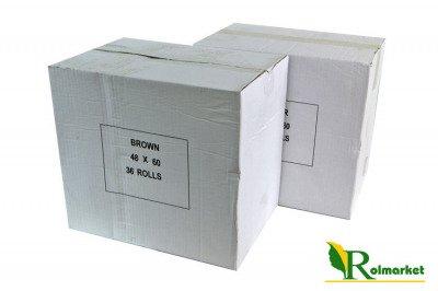 Brązowa taśma pakowa, samoprzylepna  Eco Solvent 48mm x 60 yd (216szt.)