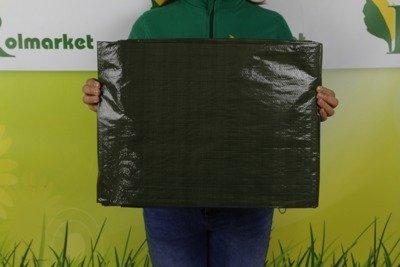 Gruba plandeka okryciowa zielona 6x10m 90gram