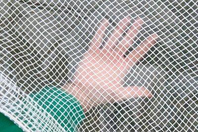 Gruba plandeka zbrojona przezroczysta 10x15m (100g)