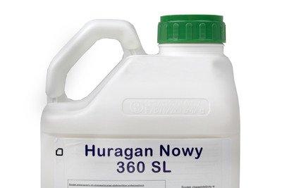 Huragan Nowy 360SL 5L – środek chwastobójczy (herbicyd) na wszystkie rodzaje chwastów, zamiennik Roundup