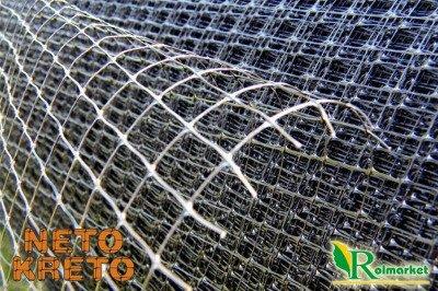 Neto Kreto - hiszpańska siatka przeciw kretom, na krety, oczko 10x14mm - 2x200m