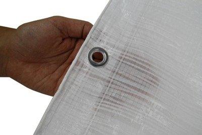 Plandeka okryciowa biała 3x4m