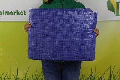 Plandeka okryciowa niebieska 12x18m