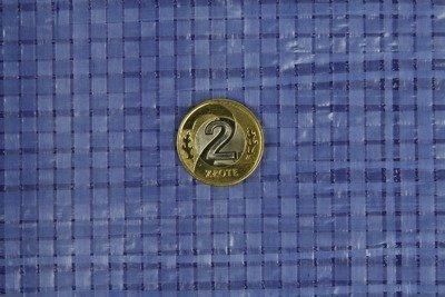 Plandeka okryciowa niebieska 20x20m