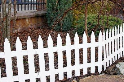 Płotek ogrodowy Garden Classic IPŁSU biały 3,2m