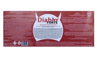 Profesjonalny preparat do odkomarzania Diablo Forte 1000 ml (komary, kleszcze i inne insekty) + utrwalacz do oprysku  250 ml + Opryskiwacz 5l