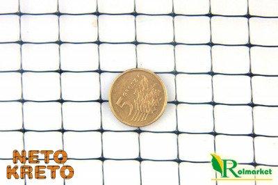 Siatka przeciw kretom NETO KRETO oczko 10x10 - 1,5x1000m