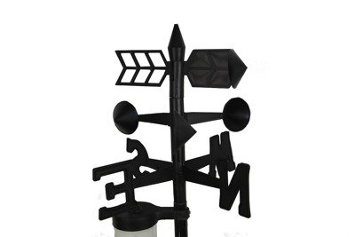 Stacja pogody – zestaw ogrodowy (termometr, opadomierz i wiatromierz)