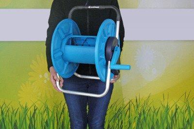 """Stojak na wąż ogrodowy - odporny na korozję 1/2"""" 60 m ALUPLUS Cellfast 55-160"""