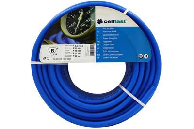 Wąż spawalniczy do tlenu 6,0x3,0mm 50m