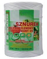 Sznurek ogrodniczy polipropylenowy PP TEX-1000 500m